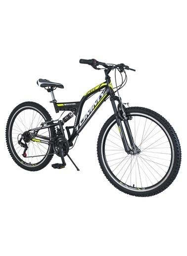 Tommy Bike 24 Double Jant 21 Vitesli Çift Amortisörlü Dağ Bisikleti New Sarı